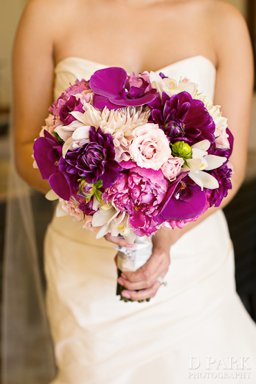 pink and purple wedding bouquets 3 summer purple pink fuschia green white bridal bouquet 6560