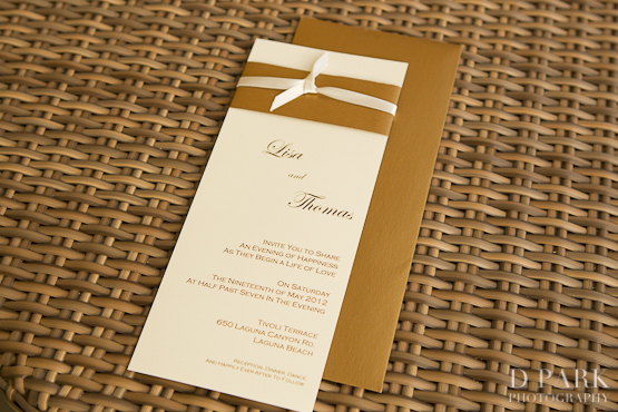 5 gold white wedding invitations - White And Gold Wedding Invitations