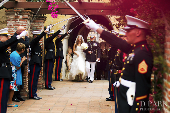 4 Marine Military Wedding