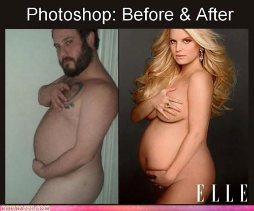 фото голых знаменитостей фотошоп
