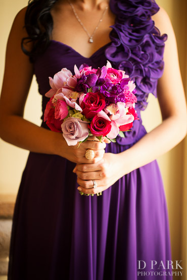 Wedding Flowers For Purple Dresses Pink Bridesmaid Bouquet Ideas Fall