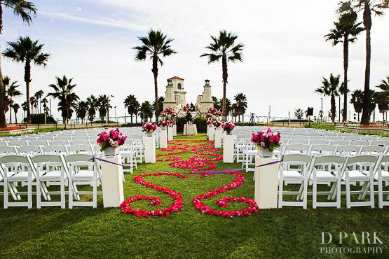 24 Hyatt Regency Huntington Beach Wedding Venue Photographer Vietnamese Travel Inspired Purple