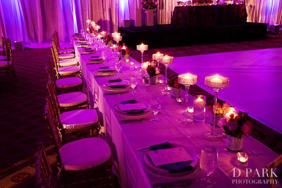 28b Purple Wedding Reception Details Decor