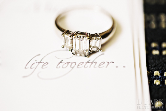 1 Life Together Creative Romantic Wedding Ring Photo