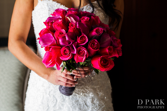 2 hot pink rose bridal bouquet black feathers mightylinksfo