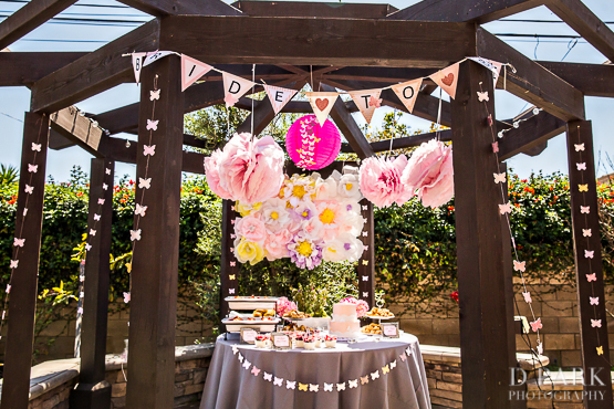 pink butterfly bridal shower photos