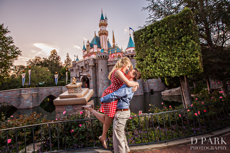 Sneak Peek | Disneyland Engagement | Kelsey + Preston