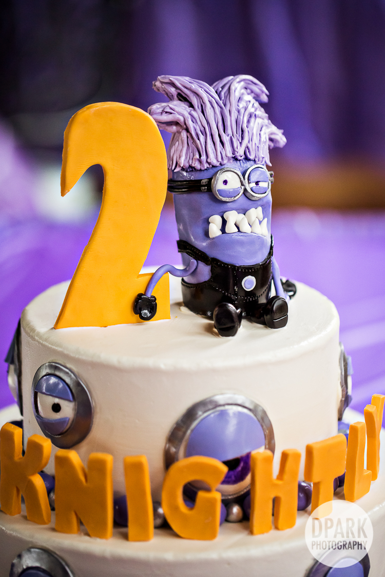 Anaheim Despicable Me Purple Minion 2nd Birthday Party