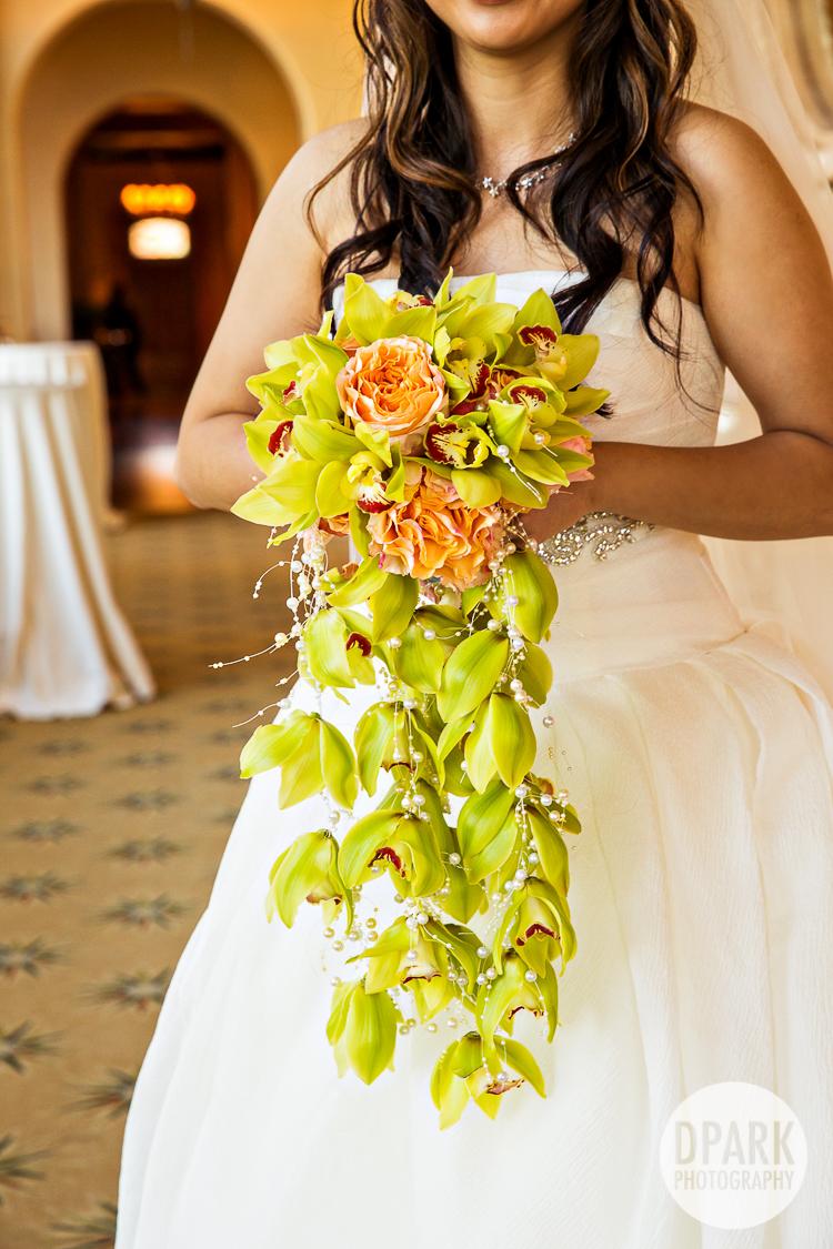 best creative unique bride wedding bouquet