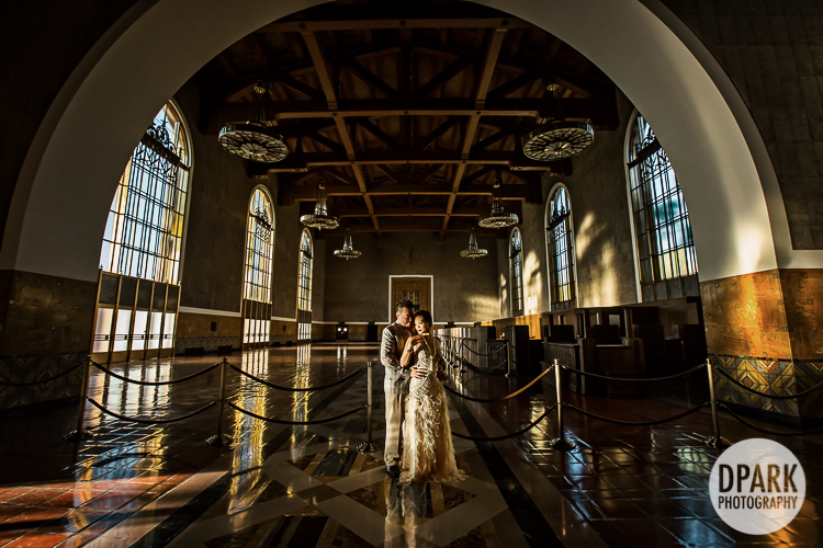 sue wong gown valentino heels great gatsby union station wedding