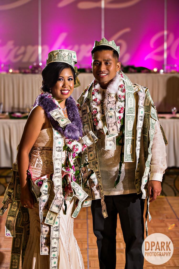 modern filipino wedding money dance