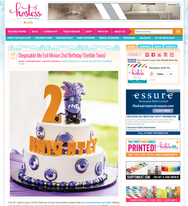 best terrible two toddler birthday party ideas