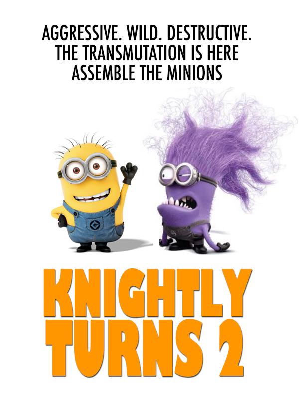 purple minion bday party