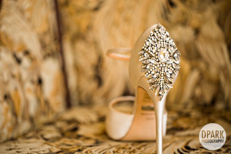 badgley mischka white stylish bridal heels shoes