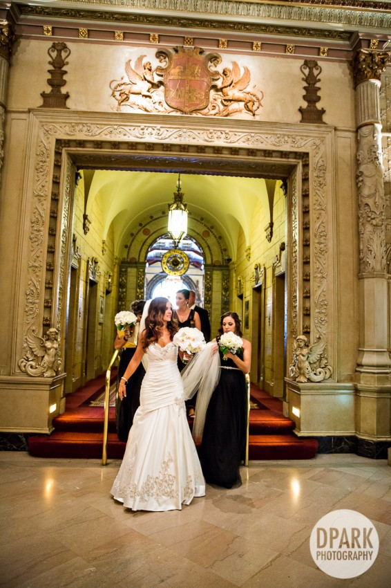 millennium biltmore hotel wedding