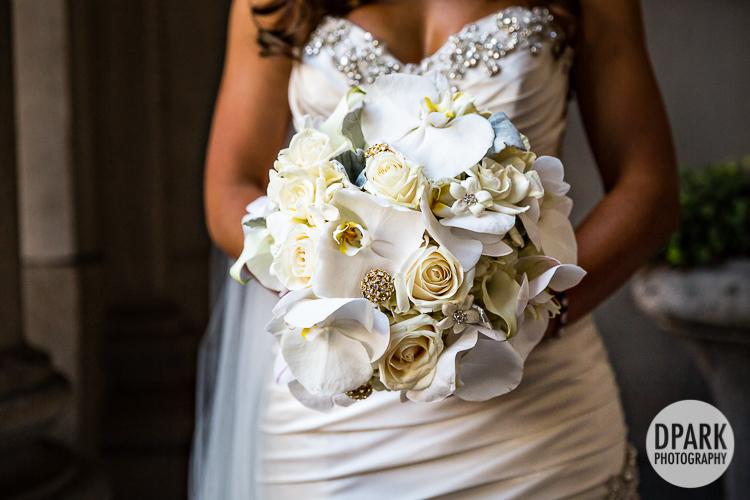 best ivory white bridal florals orchids floral sensations