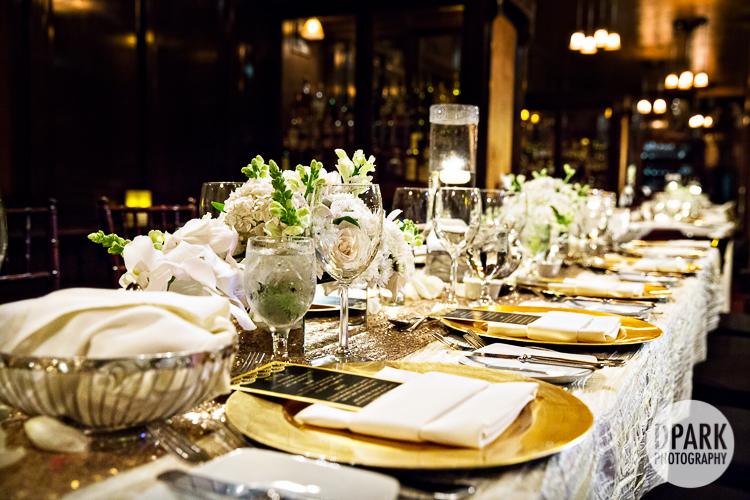 ivory gold black gatsby art deco wedding