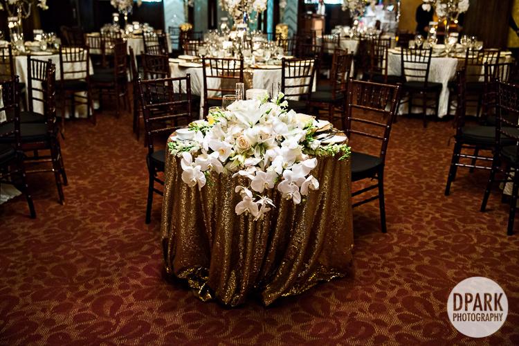 ivory gold black wedding