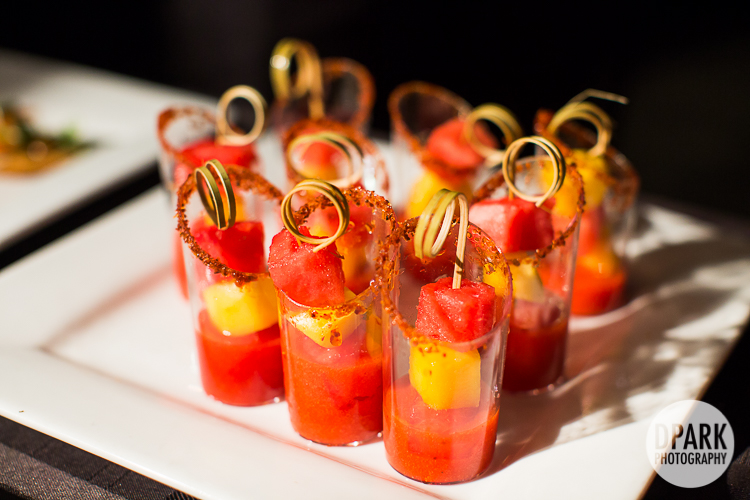 strawberry appetizers hors d'ouevres fruits wedding