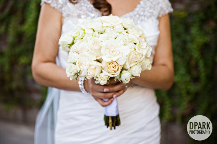 best ivory white wedding bouquet floral