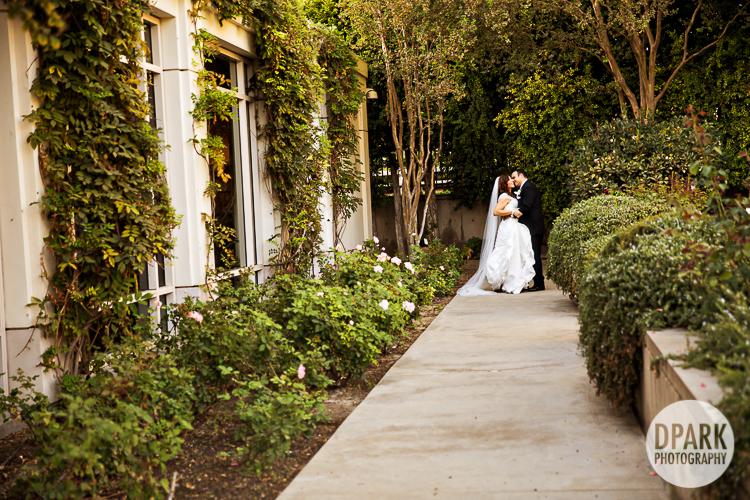 orange county garden wedding