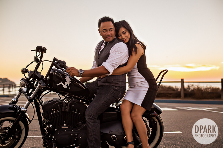 harley davidson motorcycle esession ideas pictures