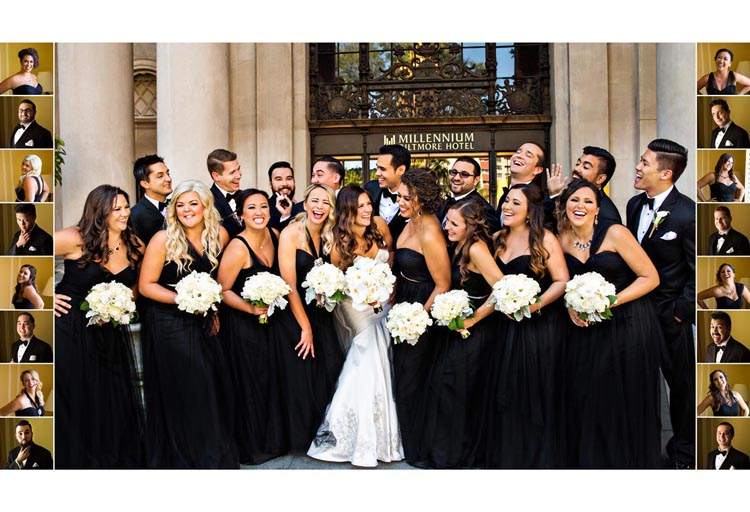 Emejing Black And Gold Wedding Party Images - Styles & Ideas 2018 ...