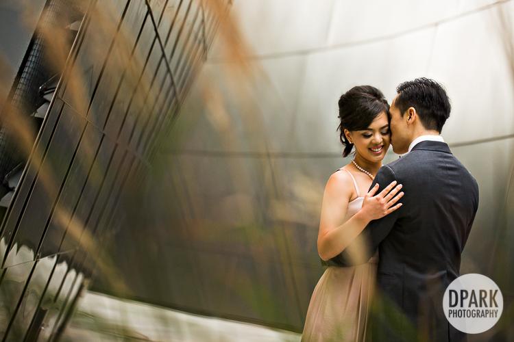 walt-disney-concert-hall-wedding photographer