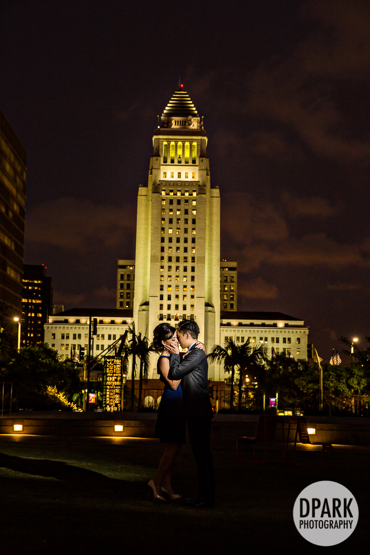 los angeles city hall engagement