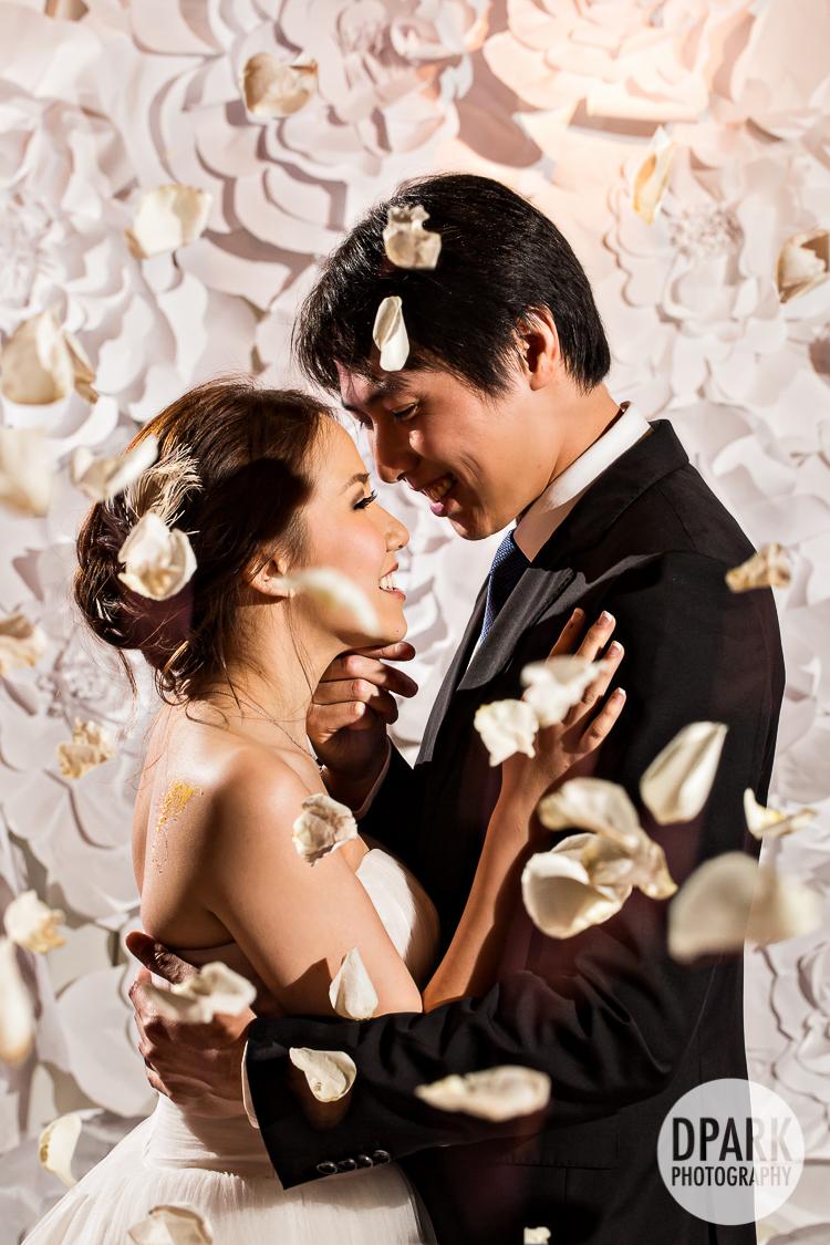 ceremony petal toss