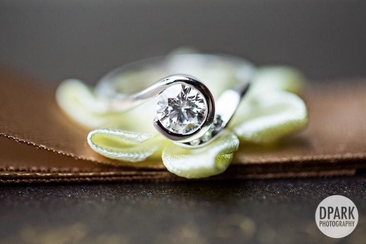 kate spade engagement ring brown ivory wedding