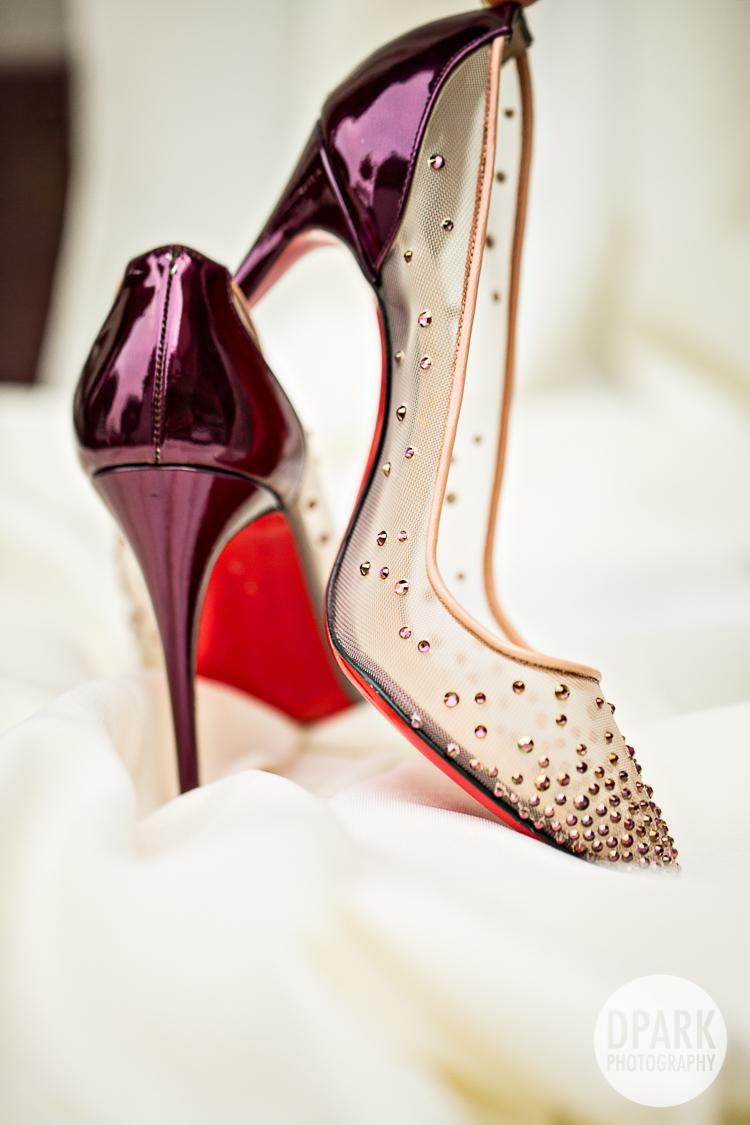 christian louboutin best bridal heels