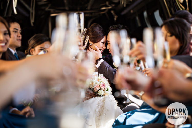 vietnamese-chinese-wedding-party-limo-bus-drinks