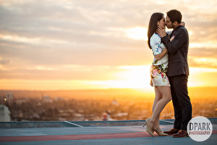 la engagement photographer helipad