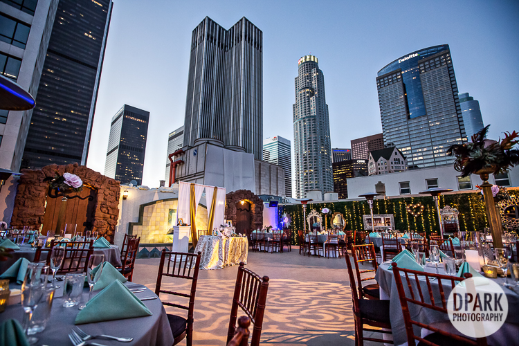 downtown-la-skyline-wedding-reception
