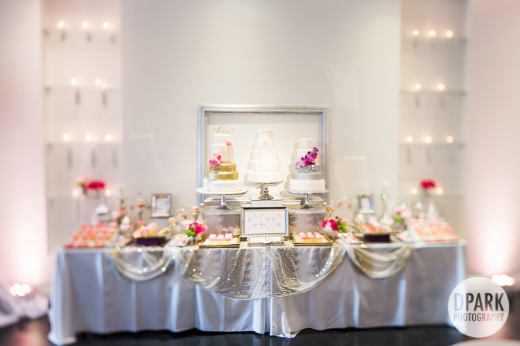 best wedding reception dessert bar