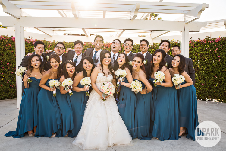 blue-bridesmaids-pictures-groomsmen