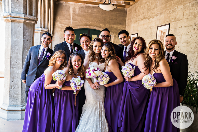 purple-bridal-party