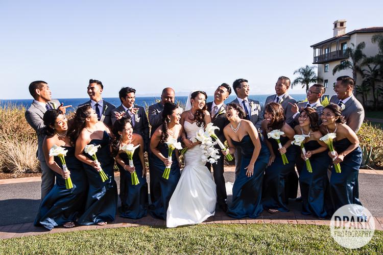 filipino-navy-blue-bridal-party