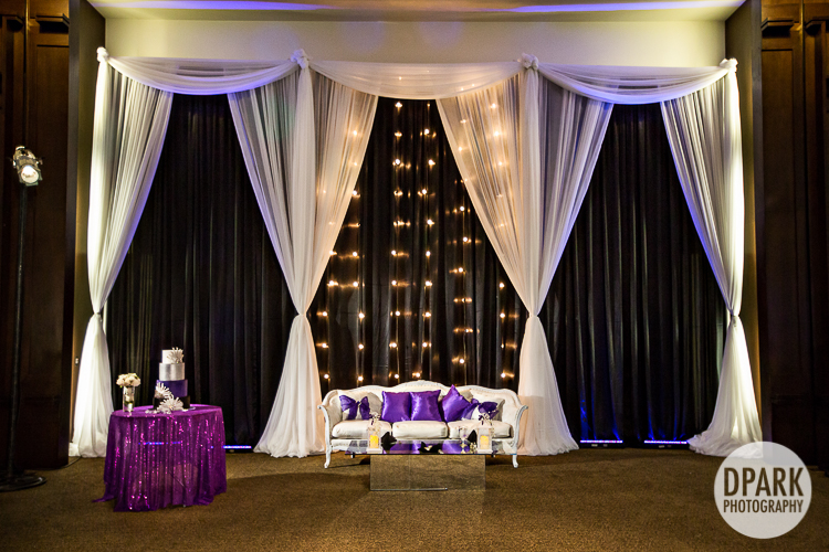 modern-lights-purple-black-silver-white-wedding-reception
