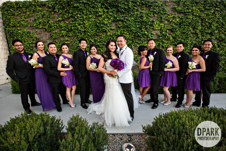 chaffey-college-wedding-purple-bridesmaids