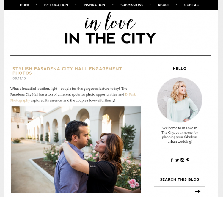 pasadena city hall engagement photographer