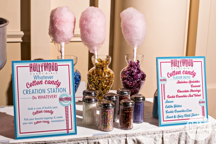 hollywood-girls-cotton-candy-wedding-booth