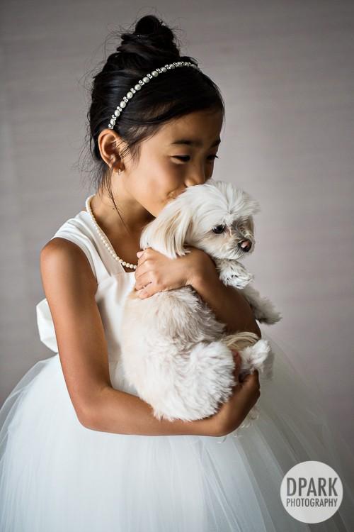 best-flower-girl-dog-photo
