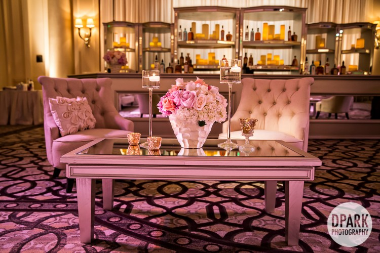 luxury-wedding-reception-cocktail-hour-blush-ivory-gold-decor-champagne