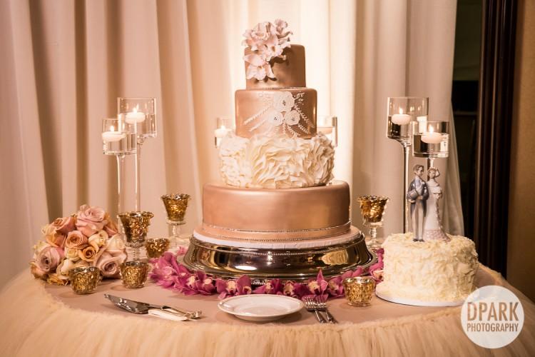 luxury-ivory-gold-blush-wedding-cake