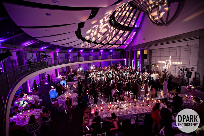 Skirball Cultural Center Wedding Reception Photographer