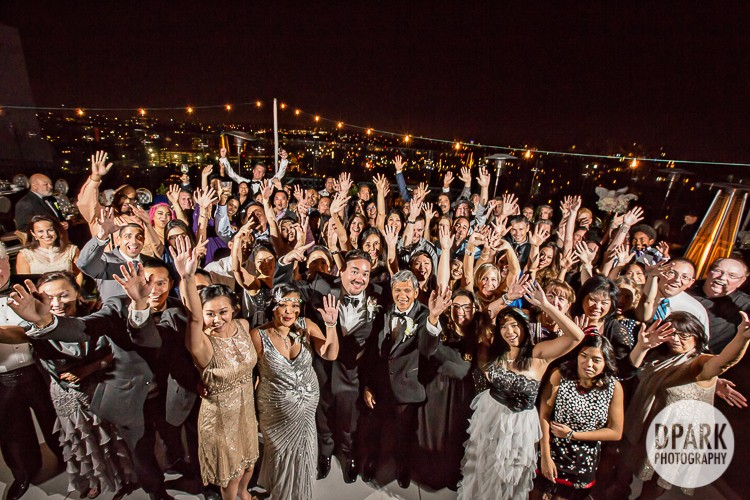 rooftop-hollywood-wedding-photographer