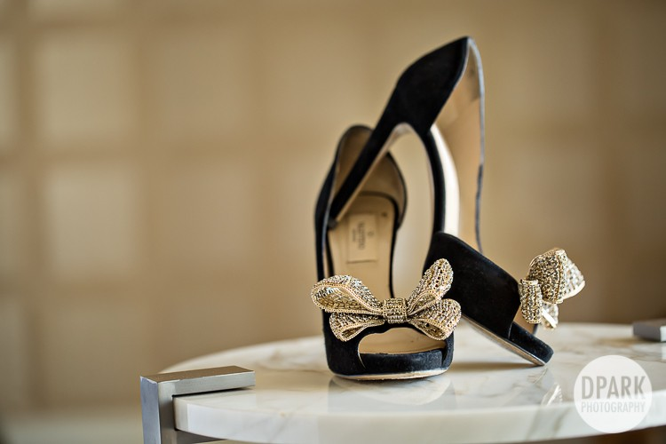 black-valentino-gold-bridal-heels