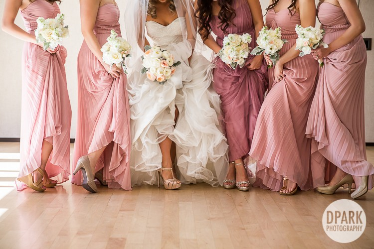 blush-lilac-ivory-gold-bridesmaids-gowns-shoes-attire